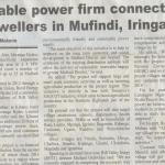 renewable power firm